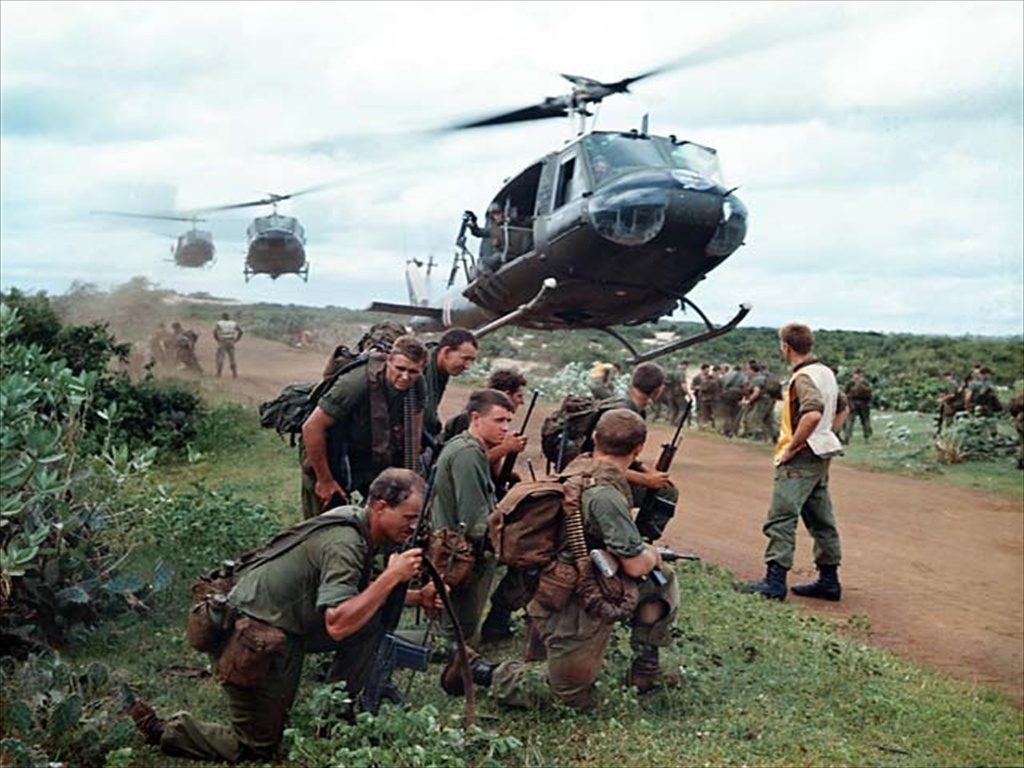 the soldiers experience during vietnam
