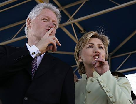 Image result for hillary shhhhhh