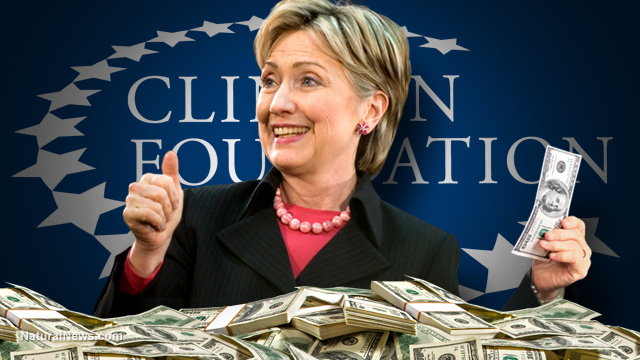 Hillary-Clinton-Foundation-Money-Pile