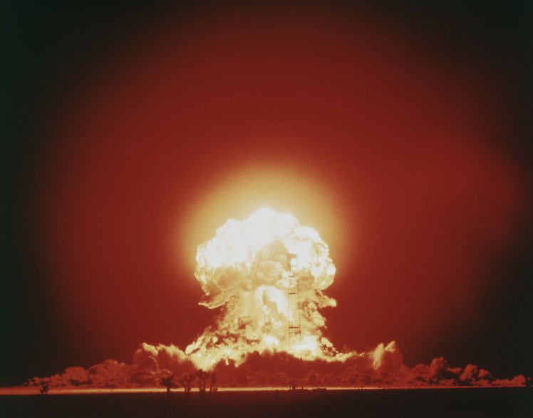 Nuclear Bomb Blast . (Photo by Lambert/Getty Images)