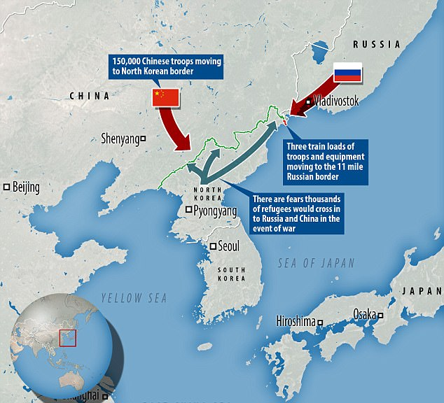 Putin Sends Troops To Russia S Border With North Korea