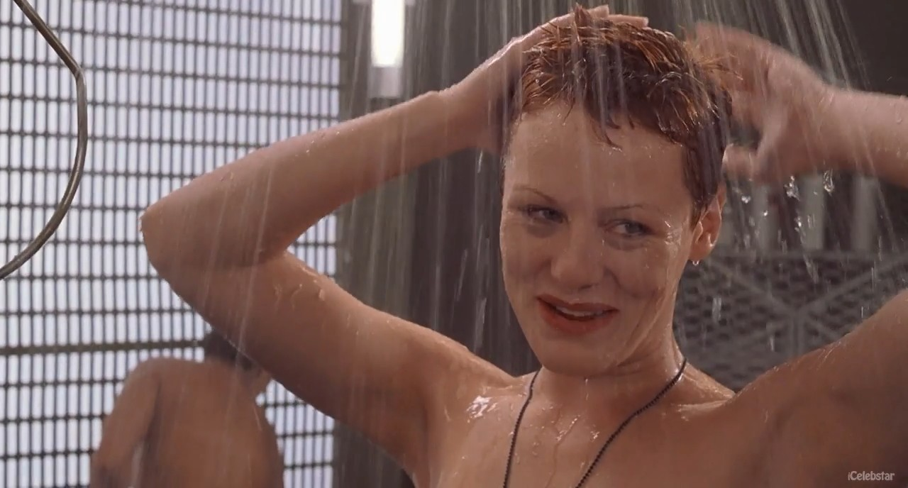 Starship troopers shower scene