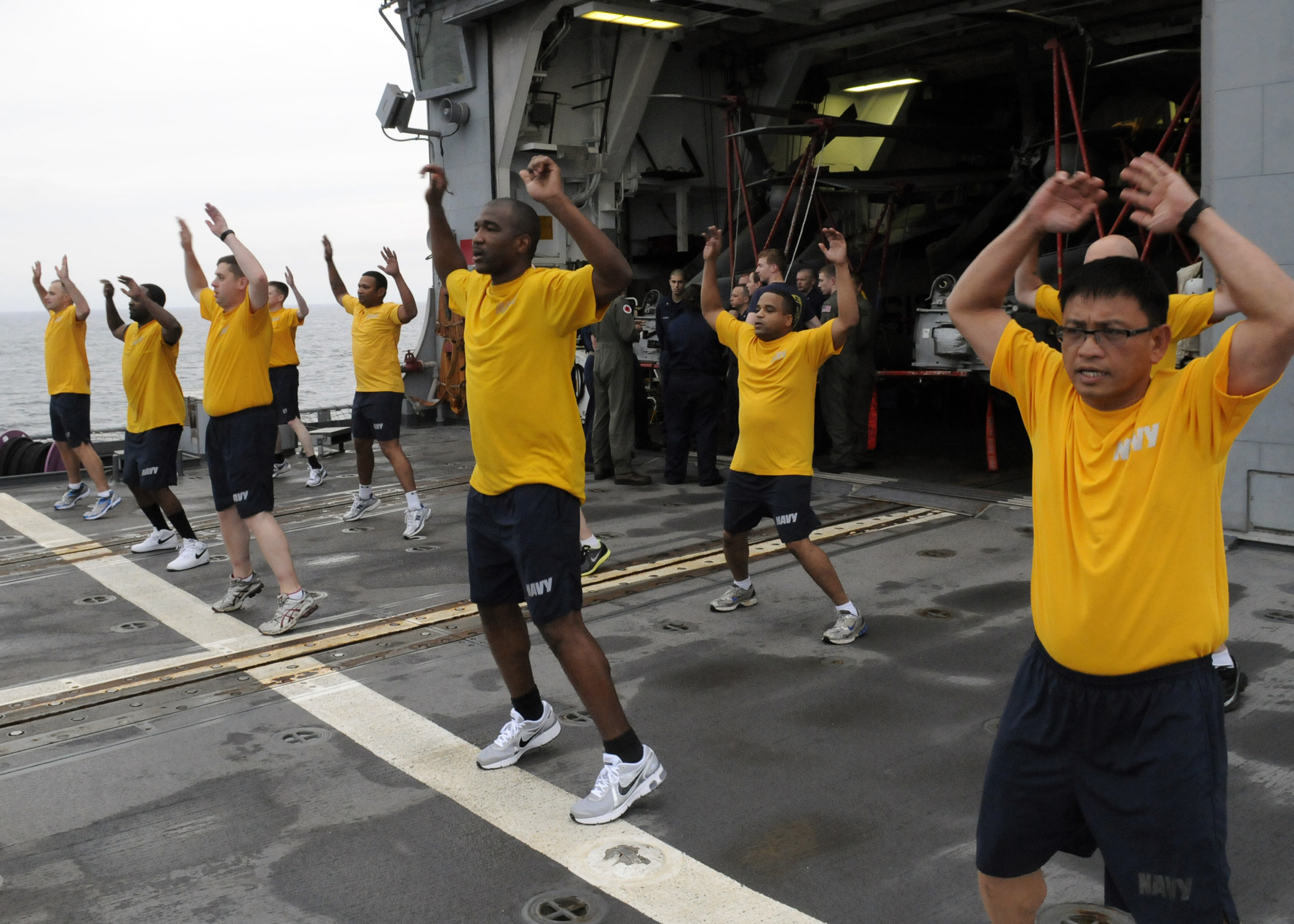 More Problems - Navy grants fitness amnesty to 48,000 sailors who